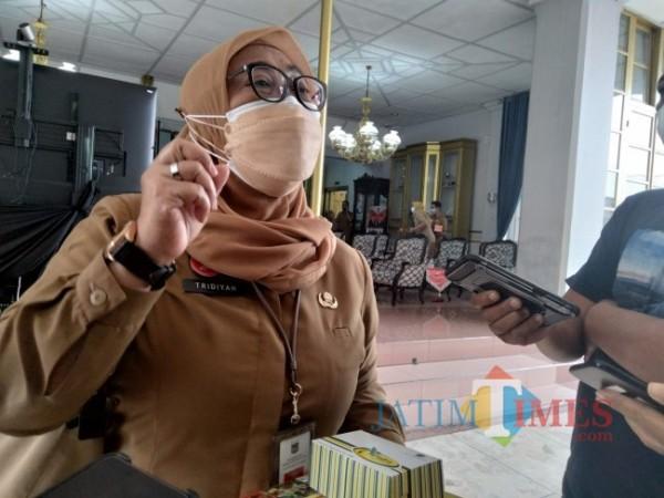 Inspektur Kabupaten Malang Tridiyah Maestuti.(Foto: Riski Wijaya/MalangTIMES).