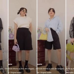 Styling Celana Pendek untuk Daily Outfit Kekinian, Boleh Dicoba Nih!