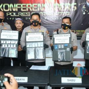 Pakai Sabu untuk Lawan Kobaran Api, Pegawai PMK di Blitar Ditangkap Polisi