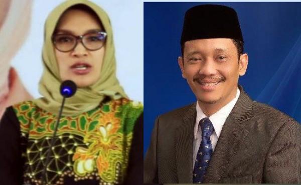 Puput Tantriana Sari dan Hasan Aminuddin (Foto: IST)
