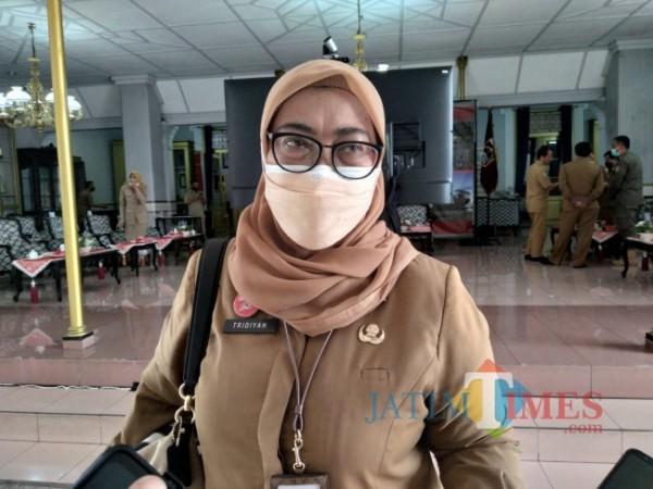 Inspektur Kabupaten Malang Tridiyah Maestuti (Foto: Riski Wijaya/MalangTIMES).