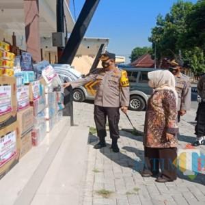 Polisi Gelontorkan Sarana Penunjang Kampung Tangguh ke 182 Desa di Jombang