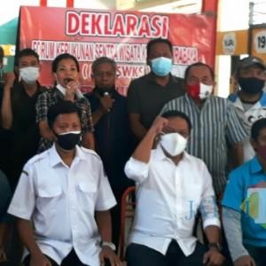 Pelaku UMKM Deklarasikan Forum Kerukunan Sentra Wisata Kuliner Surabaya, Ini Harapannya kepada Pemerintah