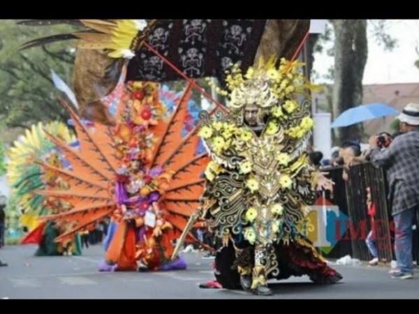 Event Malang Flower Carnival (MFC) pada 2019 lalu. (Foto: Dokumentasi JatimTIMES).