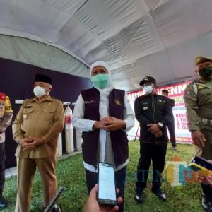 Jawa Timur Bebas dari Zona Merah Covid-19