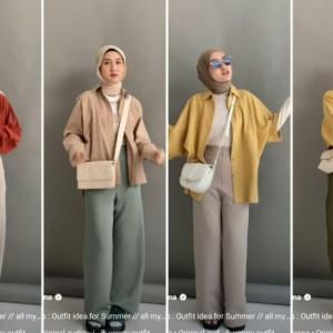 Inspirasi Summer Outfit untuk Hijabers, Dijamin Kece dan Kekinian Abis