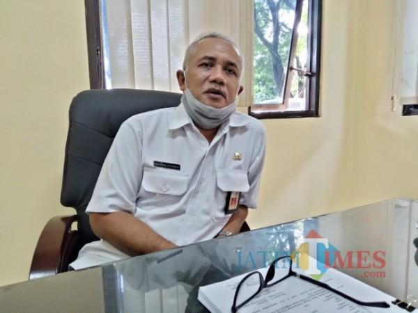 Kepala BPBD Kabupaten Malang, Bambang Istiawan.(Foto: Riski Wijaya/MalangTIMES).