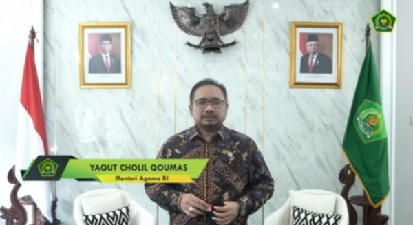 Menteri Agama RI Yaqut Cholil Qoumas (Ist)