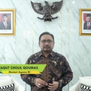 Menteri Agama Harapkan Mahasiswa Baru UIN Malang Jadi Agent of Change dan Moderasi Beragama