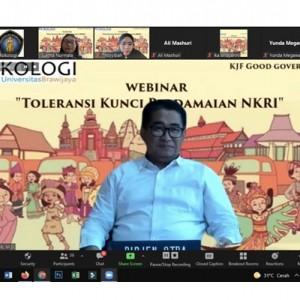 Jurusan Psikologi FISIP UB Bersama Kemendagri Gelar Webinar Toleransi Kunci Perdamaian NKRI