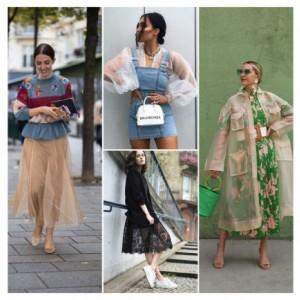 Inspirasi Tampil Anggun dengan Outfit Transparan Kekinian, Berani Coba?