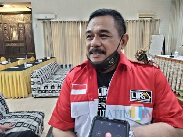 Ketua DPD LIRA Malang Raya, M. Zuhdy Achmady.(Foto: Riski Wijaya/ MalangTIMES).