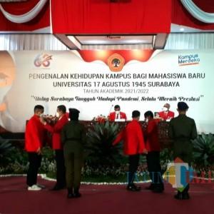 Tunggu Surabaya PPKM Level 2, Rektor UNTAG Janji Beri Kejutan bagi Mahasiswa Baru
