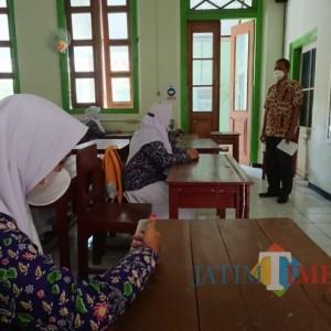 Mulai Sekolah Tatap Muka, SMKN 1 Ngawi Terapkan Kuota 25 Persen