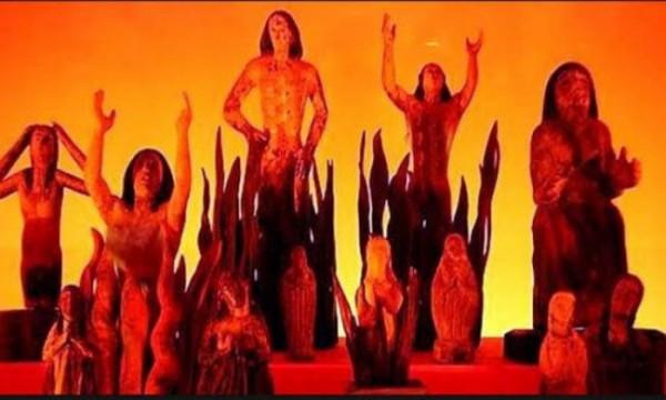 Ilustrasi wanita yang siksa di neraka. (Ist)