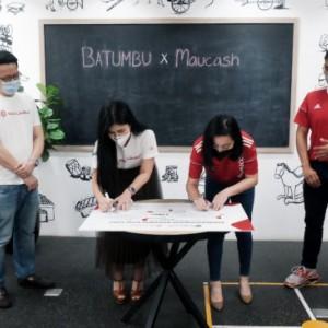 Targetkan Rp 100 Miliar untuk Penyaluran Dana UMKM Maucash dan Batumbu Jalin Kerja Sama