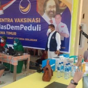 Warga Masyarakat Banyuwangi Selatan Antusias Ikuti Program Vaksinasi