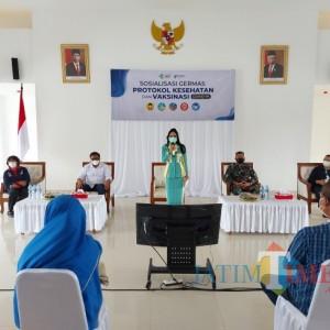 Krisdayanti Apresiasi Tingginya Animo Masyarakat Kota Malang Ikuti Vaksinasi