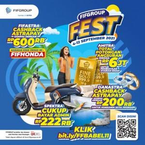 Hanya di FIFGROUP FEST Bangka Belitung, Beli Sepeda Motor Honda Dapat Potongan Tenor 5 kali