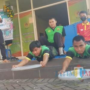 Menuju Porprov Jatim 2022, KONI Bangkalan Rutin Evaluaisi Fisik Atlet