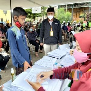 Siapkan 1.500 Dosis Vaksin Sinovac, SMK Terpadu Al-Islahiyah Gelar Vaksinasi Massal