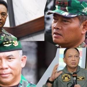 Profil, Jejak Karir, hingga Kekayaan 4 Calon Panglima TNI Pengganti Marsekal Hadi Tjahjanto