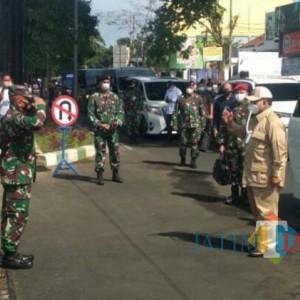 Ke Kota Malang, Prabowo Subianto Disambut Demo Keterampilan di Lapangan Hitam Dodikjur