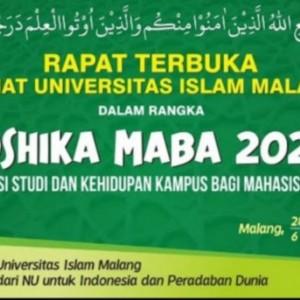 Orientasi Mahasiswa Baru 2021, Unisma Hadirkan Wapres dan Dua Menteri
