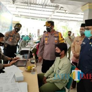 Jelang PTM, Pelaksanaan Vaksinasi Bagi Pelajar di Pamekasan Dikebut