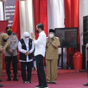Sigap dan Disiplin, Danrem 081/DSJ Pimpin Pengamanan Kunker Presiden Jokowi di Ponorogo dan Kota Blitar
