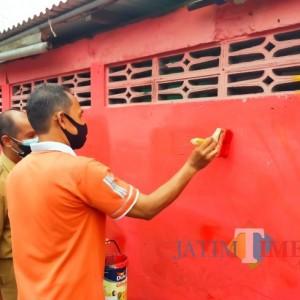 Jokowi Kunjungi Kota Blitar, Mural Berbau Kritik Mendadak Dihapus