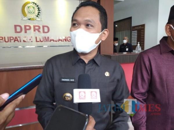 Bupati Lumajang H. Thoriqul Haq (Foto : Moch. R. Abdul Fatah / JatimTIMES)