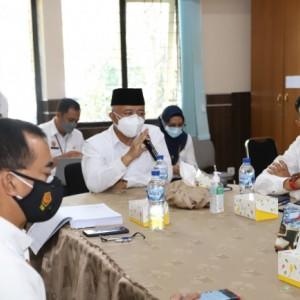 Komitmen Tingkatkan Kinerja, Sanusi Kunjungi Sejumlah Kantor OPD