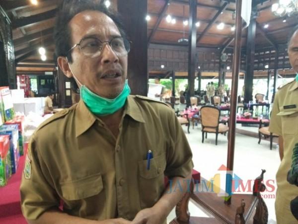 Kepala Dinkes Kabupaten Malang, Arbani Mukti Wibowo.(Riski Wijaya/MalangTIMES).