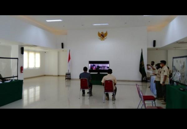 Pelanggar PPKM di Kota Malang yang jalani sidang tipiring di Mini-Block Office Kota Malang, Rabu (8/9/2021). (Foto: Istimewa).