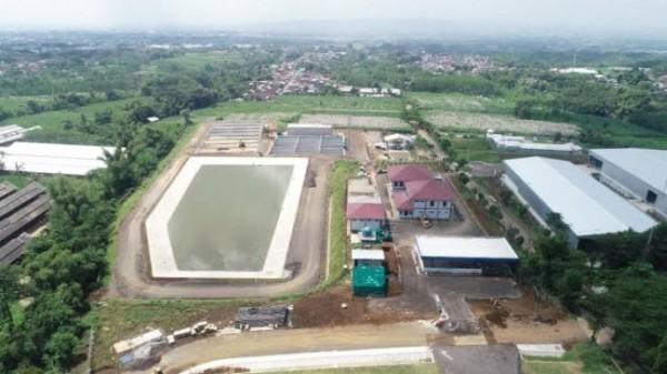 Proyek sanitary lanfdfill yang saat ini tinggal menunggu alat dari Jerman (foto: istimewa)