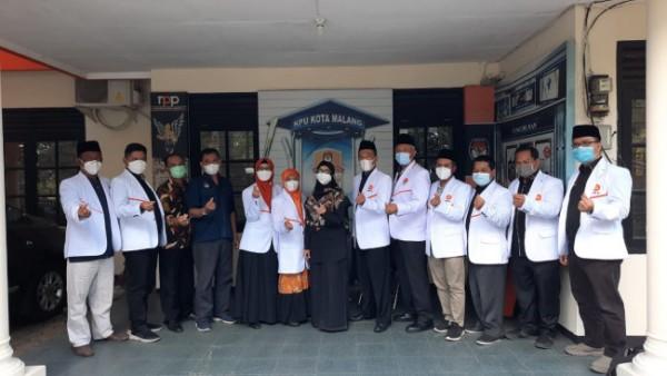 Silaturahmi kebangsaan DPD PKS Kota Malang dan KPUD Kota Malang. (Ist)