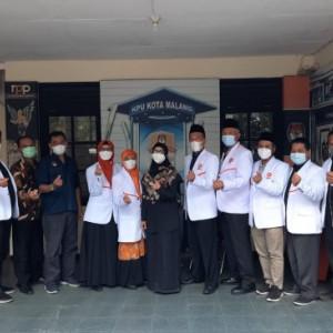 DPD PKS Kota Malang Silaturahmi Kebangsaan ke KPUD Kota Malang