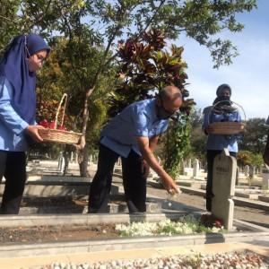 Tabur Bunga untuk Pahlawan, Rangkaian Peringatan Hari Radio ke-76 RRI Malang