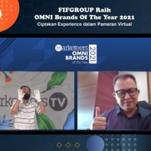 Ciptakan Experience dalam Pameran Virtual, FIFGROUP Peroleh Brands Of The Year 2021