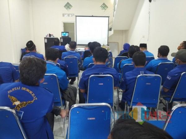 HUT Partai Demokrat di Lumajang (Foto : Moch. R. Abdul Fatah / JatimTIMES)