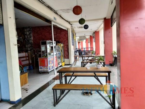 Salah satu sisi di area Stadion Kanjuruhan.(Foto: Riski Wijaya/MalangTIMES).