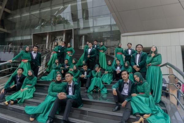 Tim Paduan Suara Mahasiswa Gema Gita Bahana (PSM GGB) Universitas Islam Negeri Maulana Malik Ibrahim (UIN Maliki) Malang (Ist)