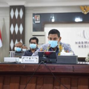 Wali Kota Kediri Paparkan Implementasi dan Tindak Lanjut Evaluasi Reformasi Birokrasi kepada Kemenpan RB