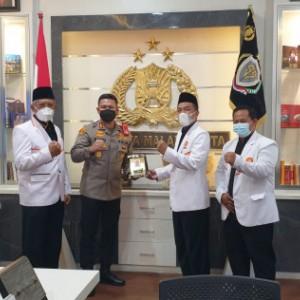 Perkuat Sinergitas Dengan Aparat, DPD PKS Kota Malang Silaturahmi Kebangsaan ke Polresta Malang Kota