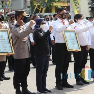 TRC PPA Indonesia Beri Penghargaan ke Polres Tulungagung, Ini Prestasinya