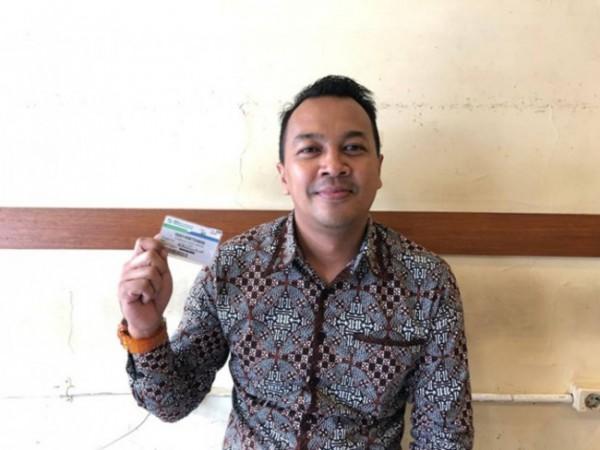 Salah satu peserta BPJS Kesehatan dari segmen Pekerja Penerima Upah (PPU) Bank BNI, yakni Syahruna Indra Saffiri (37)(Ist)