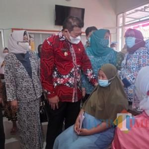 Dinas Pengendalian Penduduk Kabupaten Malang Pacu Vaksinasi Ibu Hamil