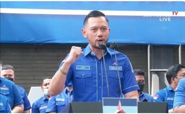 Agus Harimurti Yudhoyono (AHY) (Foto: Kompas.TV)