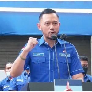 Aksi Demokrat Pimpinan AHY hingga Polisi Bubarkan Acara Kubu Moeldoko di Tangerang